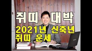 명리학으로 본 2021년 신축년 쥐띠 운세(60년, 7…
