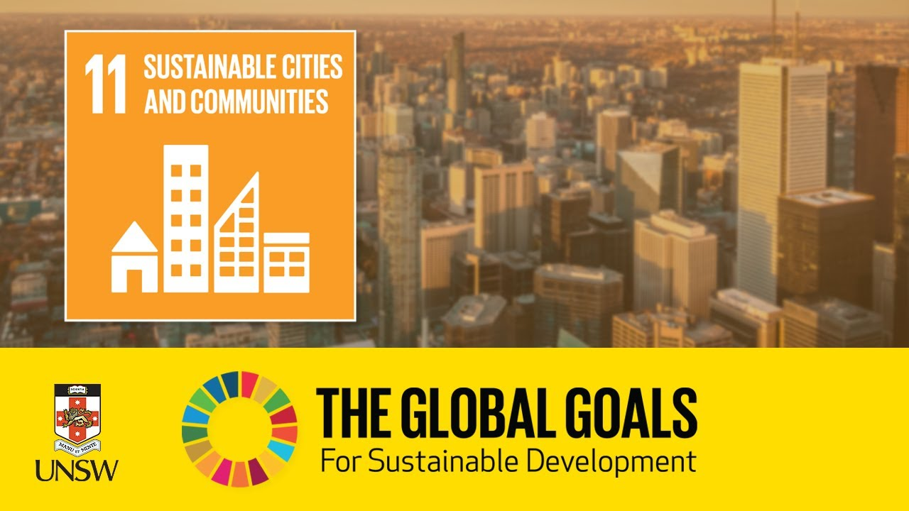 Download Sustainable Development Goal 11 - Sustainable Cities and Communities - Tommy Wiedmann