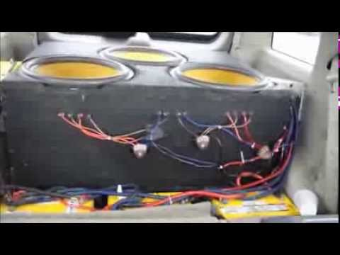 Download Youtube: How Loud Is It? 3 American Bass VFL18 on 10,000 watts