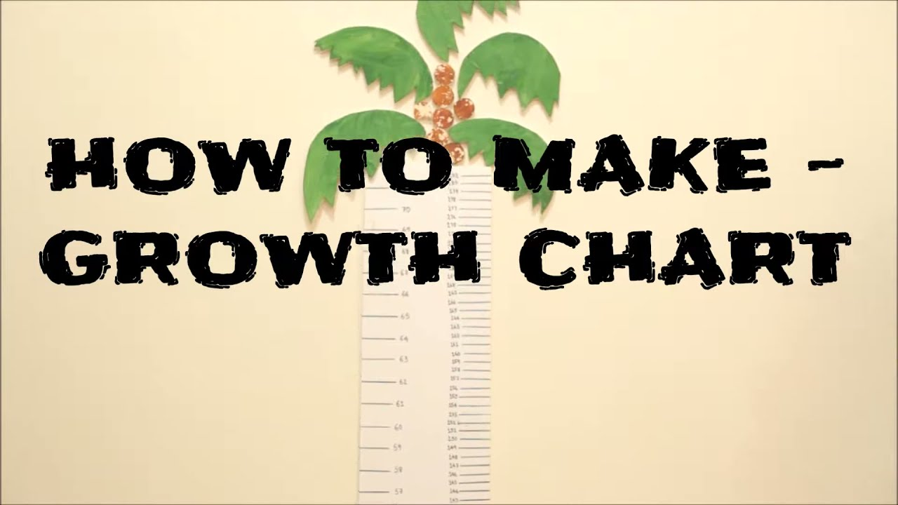 How to make a growth chart students educational project youtube how to make a growth chart students educational project nvjuhfo Images