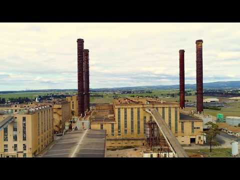 Victoria, Australia, Electrical Power Stations .... Drone Footage.