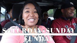 SATURDAY • SUNDAY FUNDAY   BLACK FAMILY VLOGS