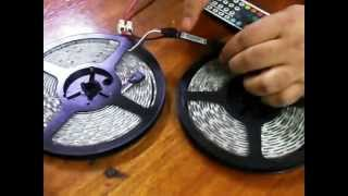 Conectar tiras led 5050 rgb en serie y que pasa cuanto conectamos incorrecto