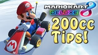 Mario Kart 8 Deluxe 200cc Tips How to play
