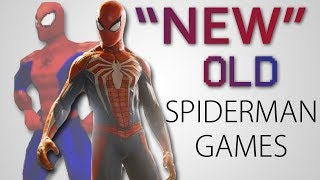 NEW Old Spider Man Games