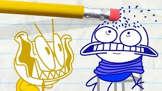 - Mini Pencilmate Takes His Revenge in SHOCK AND ROLL Pencilmation Cartoons for Kids