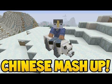 Minecraft (Xbox360/PS3) - CHINESE MYTHOLOGY! Mashup Pack! - Full Showcase!