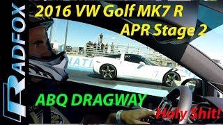 2016 golf r dsg apr stage 2 drag times 5000 ft elevation