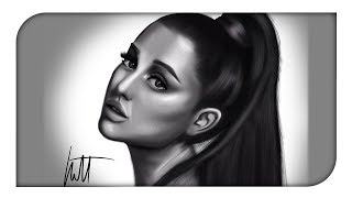 @ArianaGrande Drawing (Time Lapse)