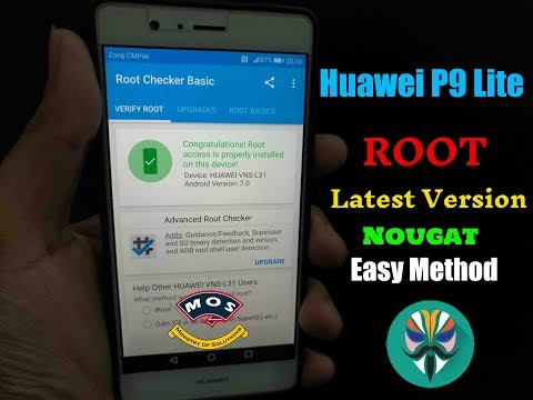 Huawei P9 Lite Root (Latest Method For New Firmware)