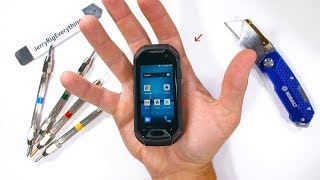 Download Worlds SMALLEST Rugged Smartphone - Durability Test! Mp3 and Videos