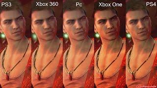 DmC Devil May Cry Definitive PS4 Vs PS3 Vs Xbox 360 Vs Xbox One Vs Pc Graphics Comparison