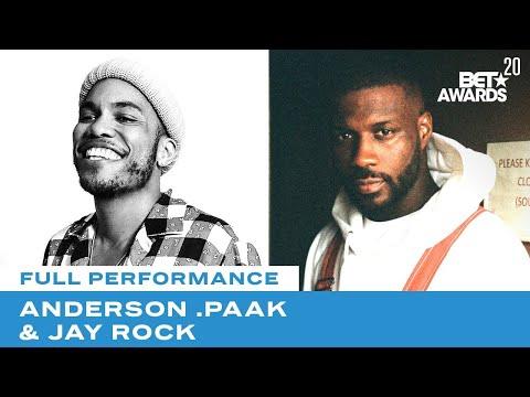 "Anderson .Paak & Jay Rock In Powerful ""Lockdown"" Performance | BET Awards 20"