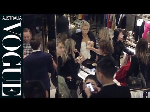 Gucci's newly refurbished Melbourne store - launch party