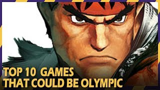 TOP 10 GAMES THAT COULD BE OLYMPIC | #ZOOMINGAMES