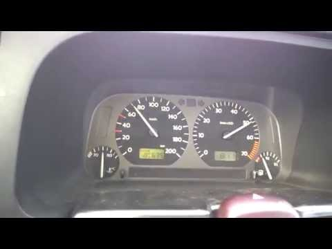 VW Golf 3 1.4 (60 HP) - Acceleration