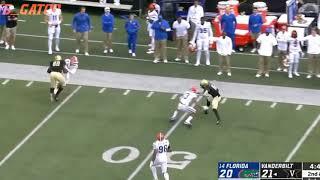 Florida football film study: defense vs  Vanderbilt