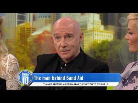 Midge Ure: The Man Behind Band Aid   Studio 10