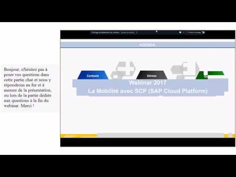 Webinar - Gagnez en mobilité et en agilité grâce à SAP Cloud Platform