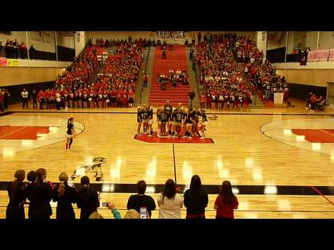 Pinckney Community High School Pep Assembly 2014