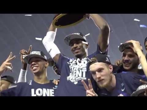 UConn Men's Basketball players react to winning their 4th National Title in Dallas.