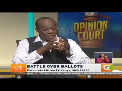 IEBC Need To Remove Credibility Gap In The Elections Process   Barrack  Muluka #OpinionCourt