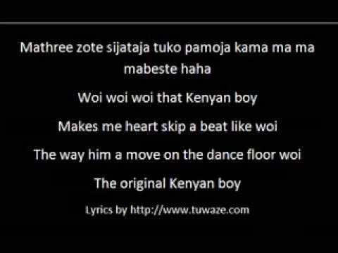 Kenyan Girl Kenyan Boy by Necessary Noize Lyrics