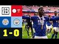 City verpasst Titel bei Grealish-Debut : Leicester - Man City 1:0 | FA Community Shield | DAZN