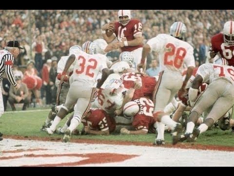 1971 Rose Bowl Ohio State vs  Stanford 1st half