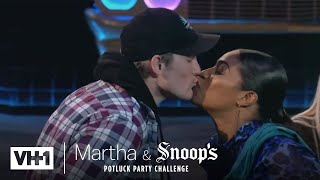 Tiffany Haddish Kisses Meghan Trainor's Brother & More! |  Martha & Snoop's Potluck Party Challenge