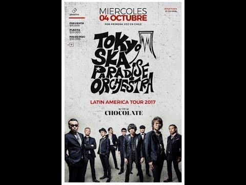 Tokyo Ska Paradise Orchestra - Santiago chile - 4 octubre 2017