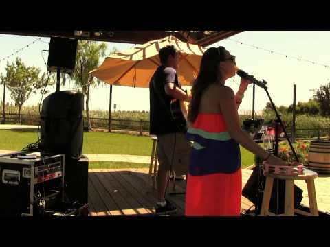 Rolling Stones - Honky Tonk Women Acoustic Cover - Hannah Nicole Winery - Toree McGee and Ben Cooper