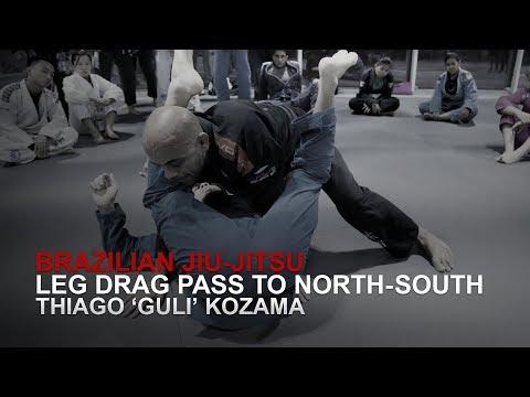 BJJ: Leg Drag Pass To North-South | Evolve MMA