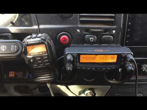 Установка раций и антенн в автомобиль. Аллигатор - R4iii