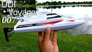 UDI Voyager 007 - The Amazing $85 RC Boat!