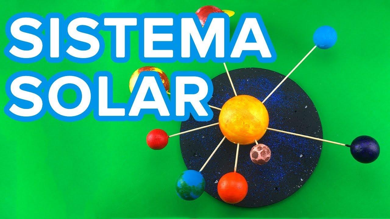 Cómo hacer un Sistema Solar con bolas de porexpan | Manualidad infantil para el colegio
