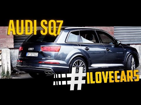 Audi SQ7 435PS 2016 V8T 4.0TDI quattro Test / review - #ilovecars