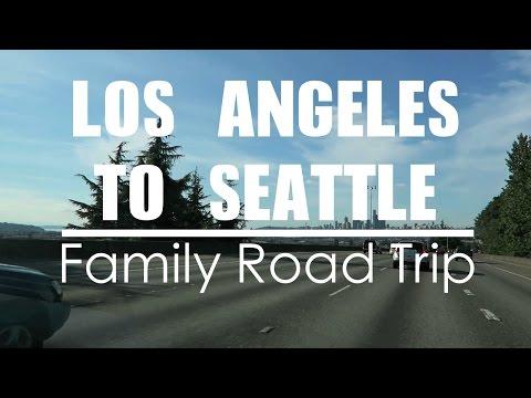 California to Washington Epic Road Trip