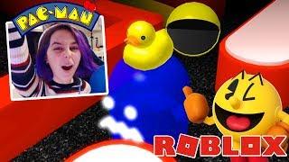 I AM PACMAN in ROBLOX | RadioJH Games