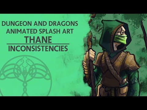 Dungeons and Dragons - Animated Splash Art: Thane