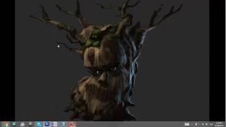 Как рисовать дерево и ветки/ How to paint_ TREE BRANCHES _ TUTORIAL