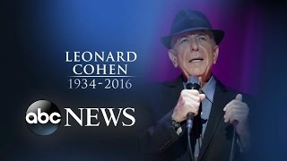 Leonard Cohen Dead at 82 | Remembering the 'Hallelujah' Songwriter