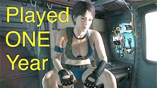 mgsv phantom pain one year later progress report metal gear solid 5