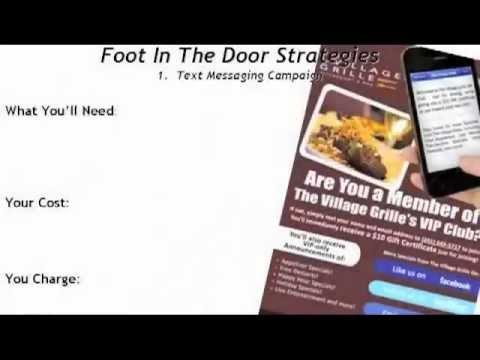 Restaurant Marketing: Foot in the Door Strategies, Pt 1