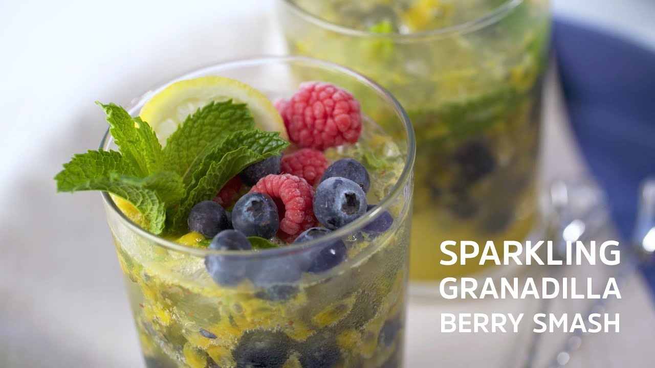 Sparkling Granadilla Berry Smash