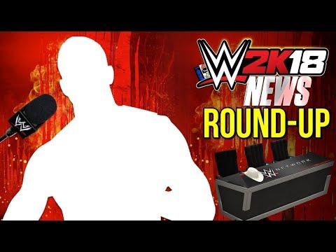 WWE 2K18 News: SURPRISE SUPERSTAR REVEALED, Commentary Update, & Recap! [#WWE2K18News]