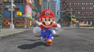 Super Mario Odyssey With a Sonic Adventure Enviroment and Sound Effects