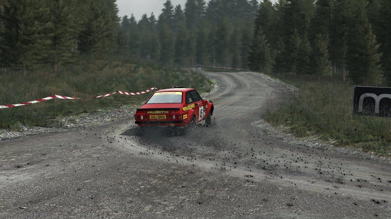 Dirt Rally Ford Escort Mk2 Sweet Lamb Youtube