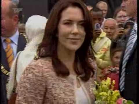 Crown Princess Mary visits Vollsmose (2006)