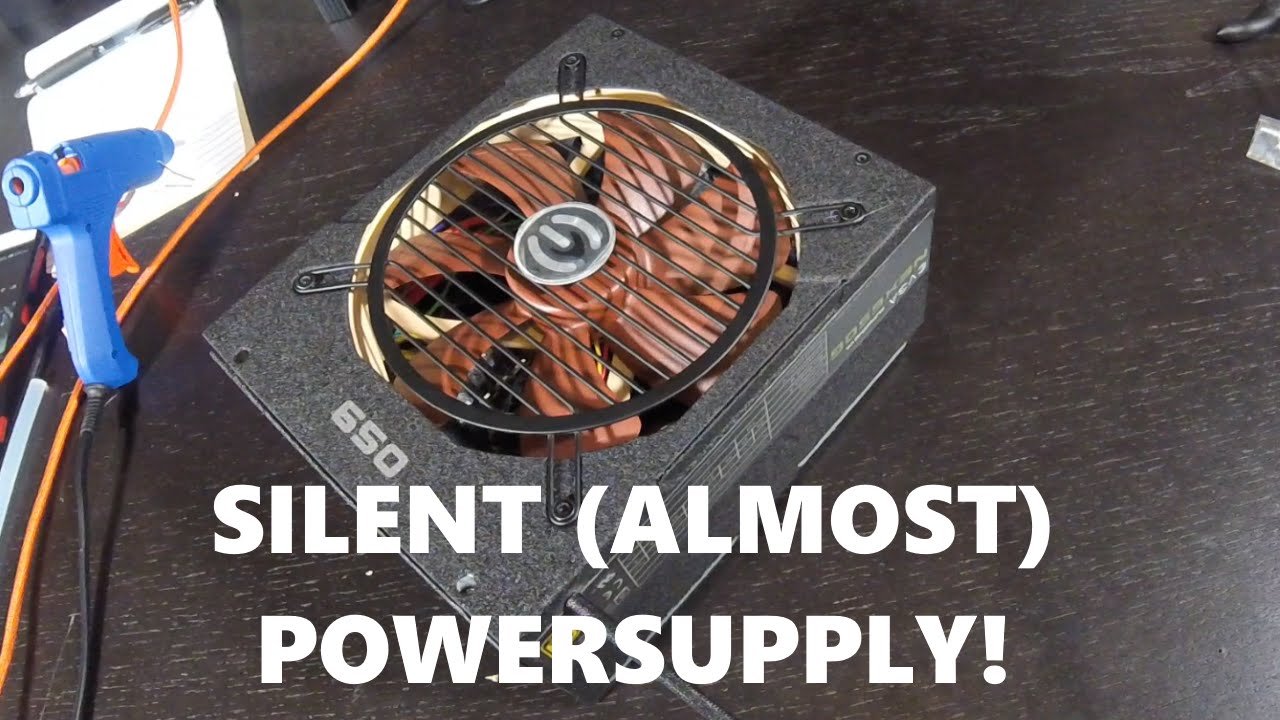 How to swap out your power supply fan for a quieter PSU